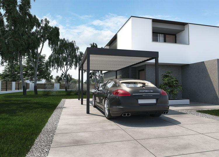 Carport Single Optimal für ein Fahrzeug